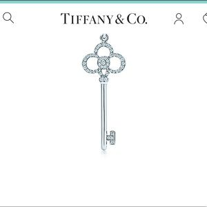 ✨💎Tiffany Crown Key Pendant💎✨
